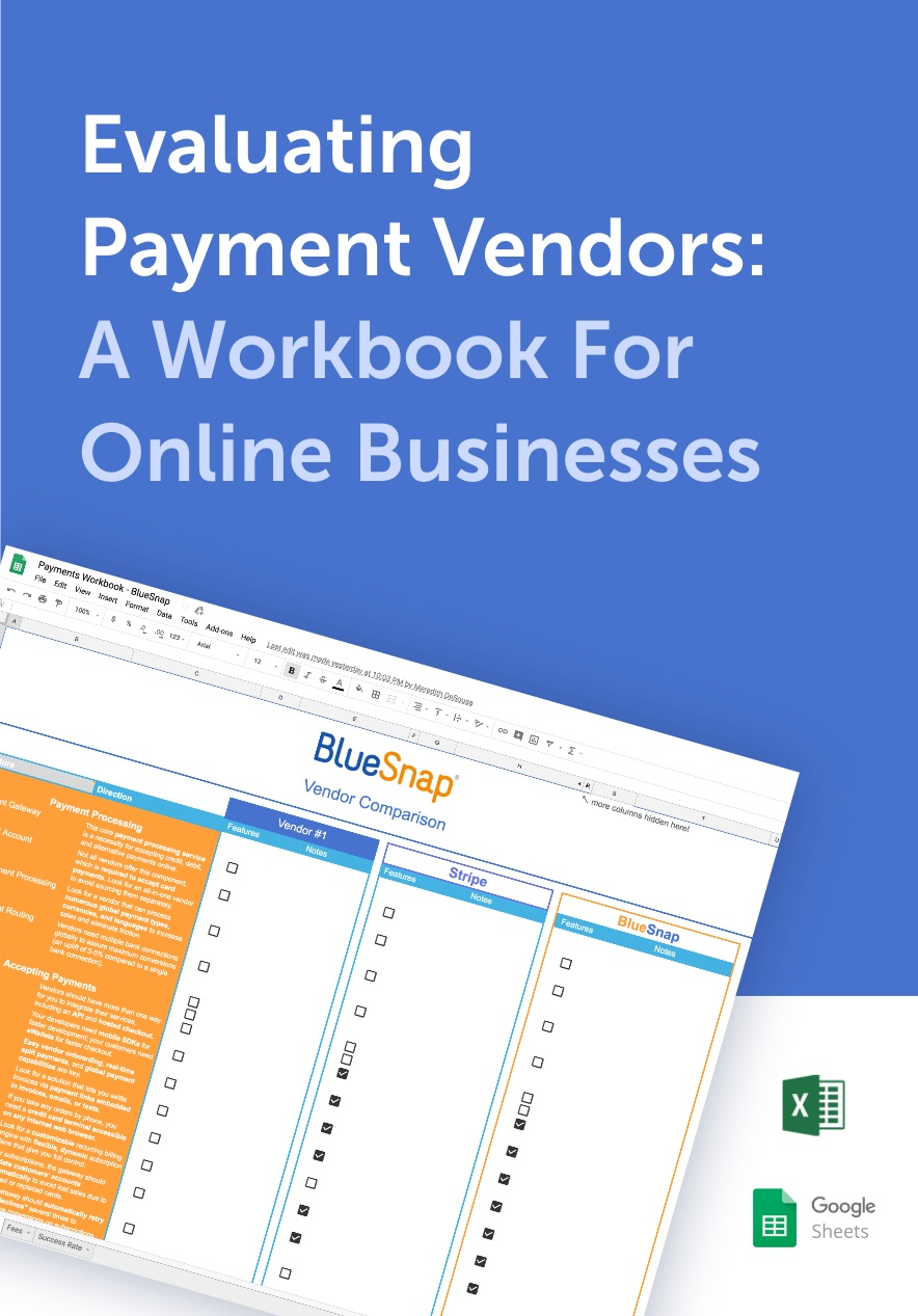 Evaluating Payment Vendors - A Workbook For Online Businesses
