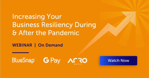 increasing business resiliency webinar recording